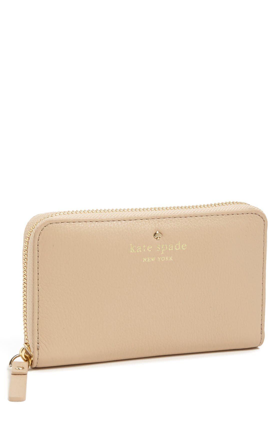 Main Image - kate spade new york 'lacey - small' zip wallet