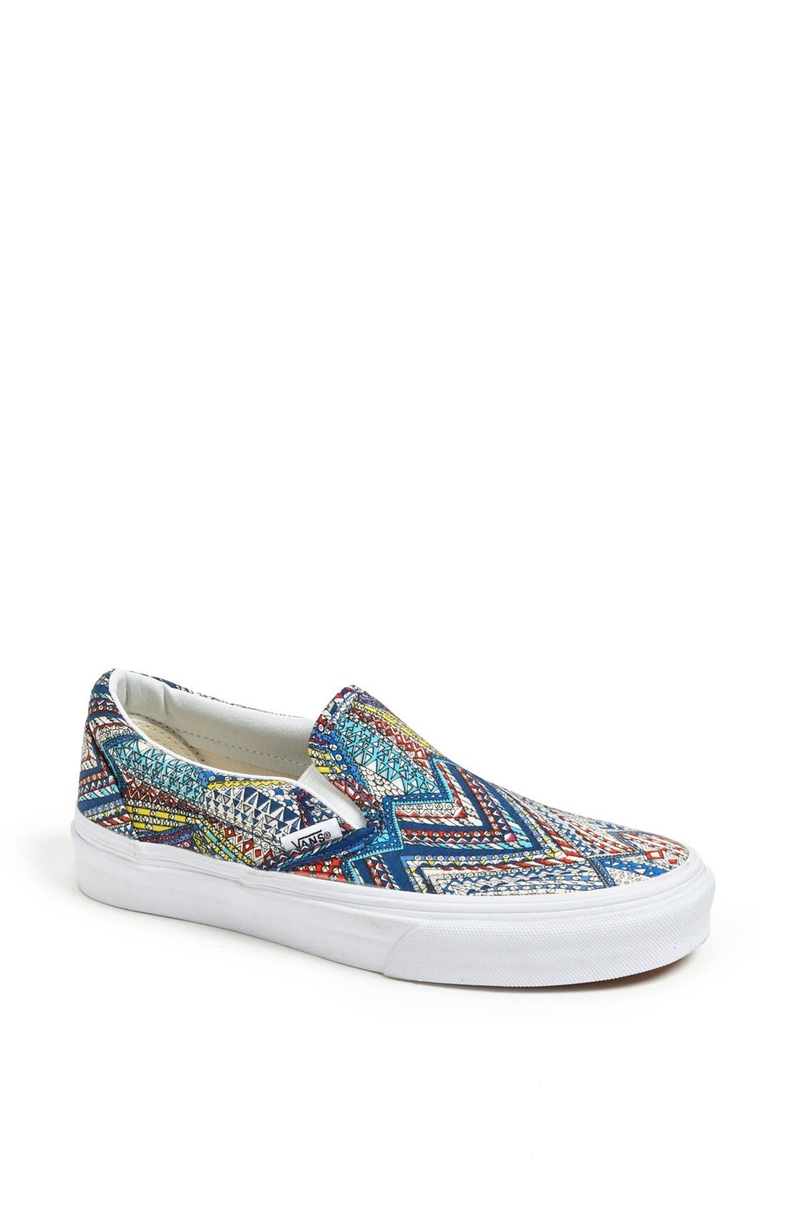 Alternate Image 1 Selected - Vans 'Classic - Abstract' Sneaker (Women)