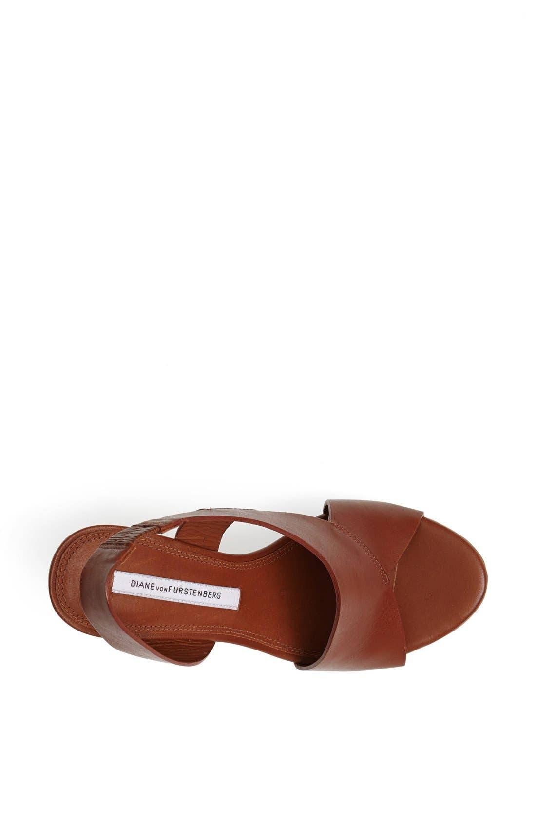 Alternate Image 4  - Diane von Furstenberg 'Sunny' Wedge Sandal