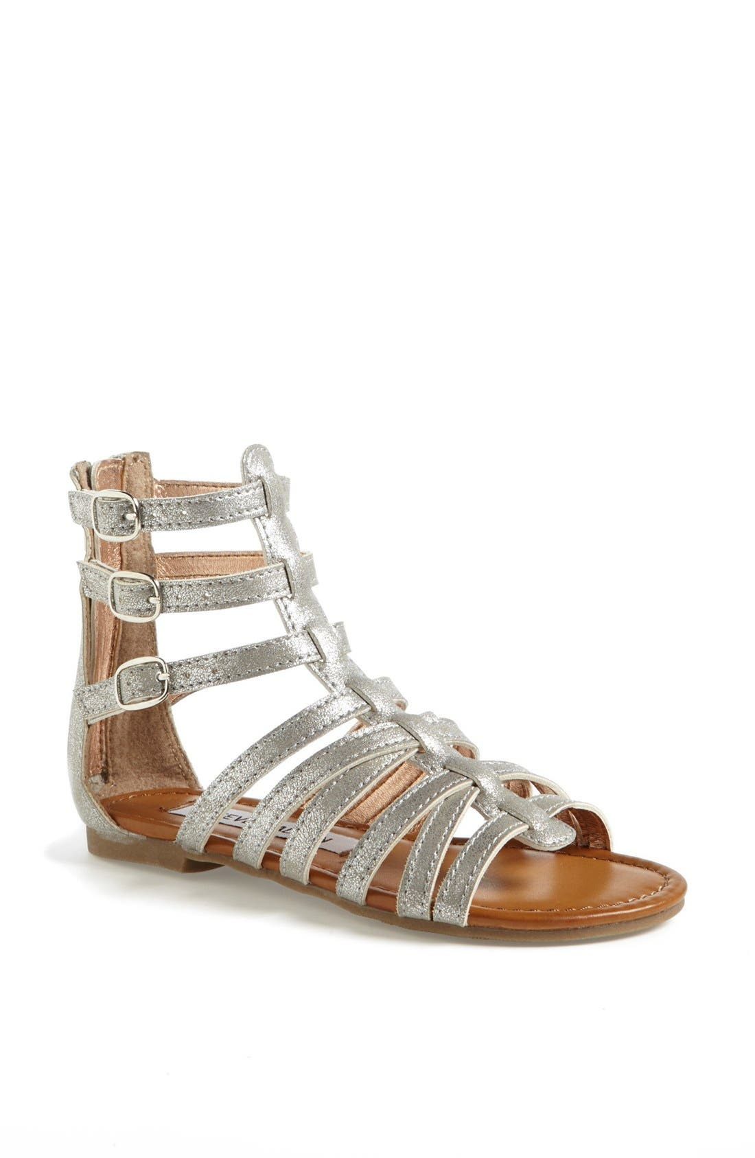 Main Image - Steve Madden 'Plato' Gladiator Sandal (Little Kid & Big Kid)