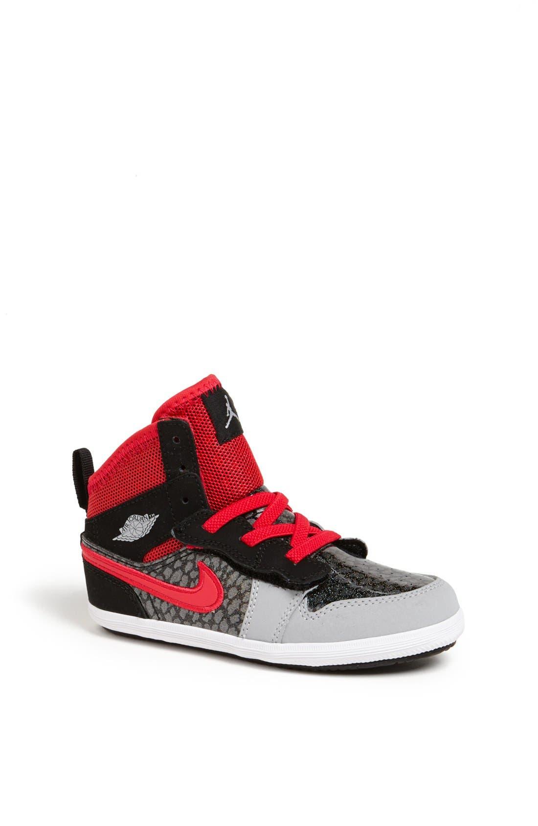 Alternate Image 1 Selected - Nike 'Jordan 1 Skinny High' Sneaker (Baby, Walker & Toddler)