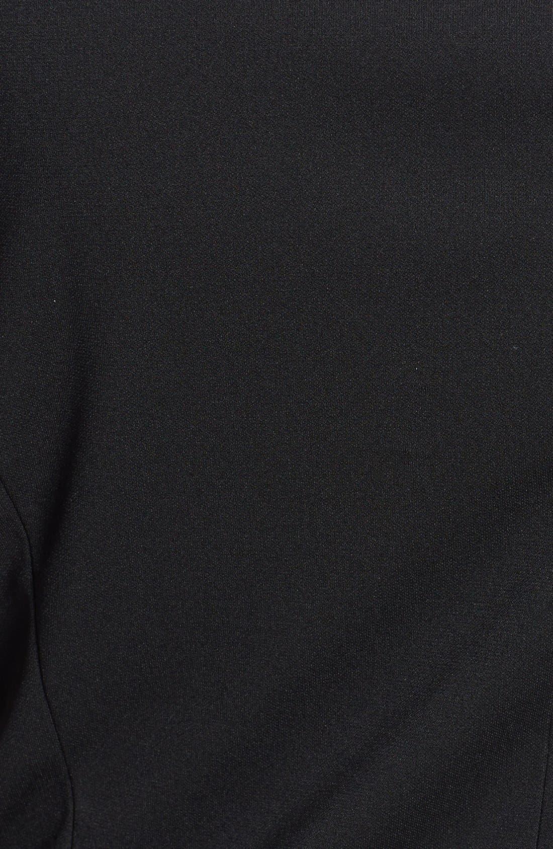 Alternate Image 3  - DKNYC Draped Asymmetrical Zip Sleeveless Top (Plus Size)