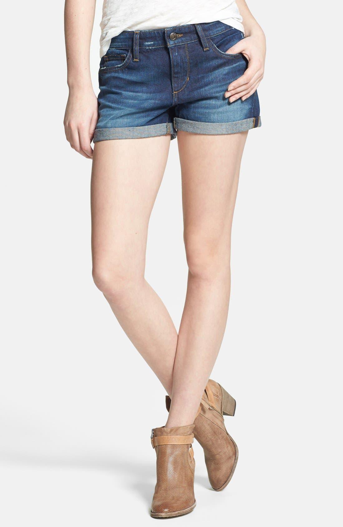 Main Image - Joe's 'Darla' Cuff Denim Shorts
