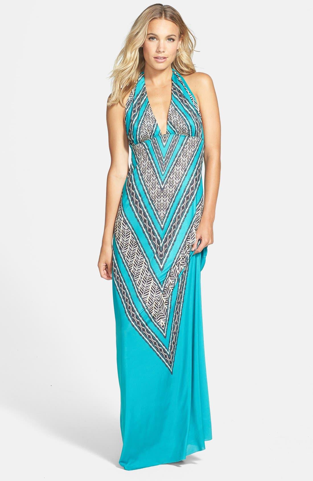 Alternate Image 1 Selected - ViX Swimwear 'Xingu Bahama' Maxi Dress