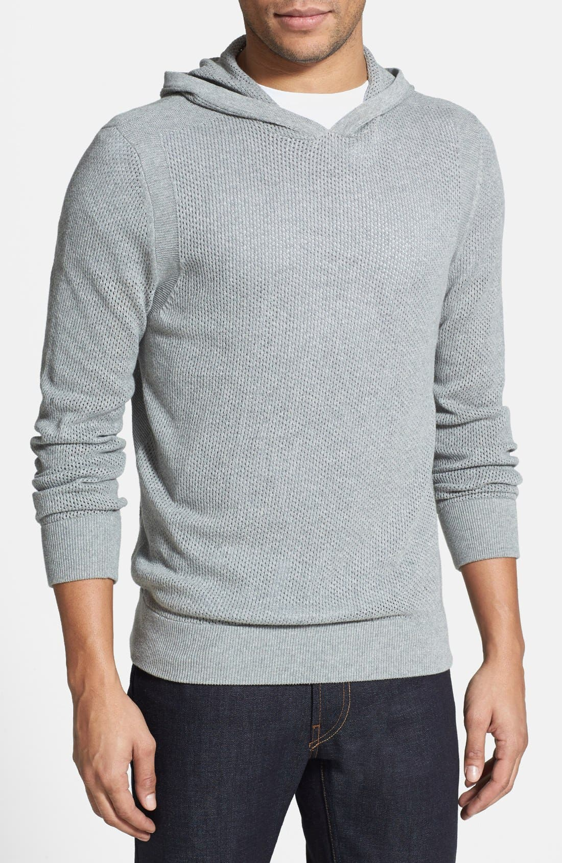 Main Image - Kenneth Cole Collection Perforated Hoodie