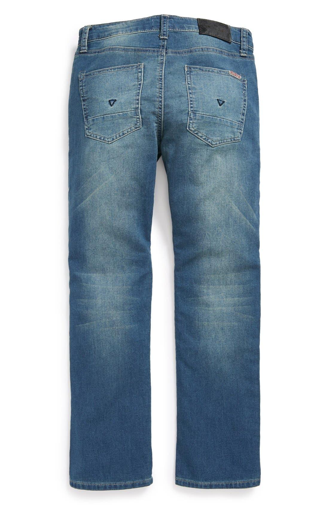Alternate Image 1 Selected - Hudson Kids 'Parker' Straight Leg Jeans (Little Boys)
