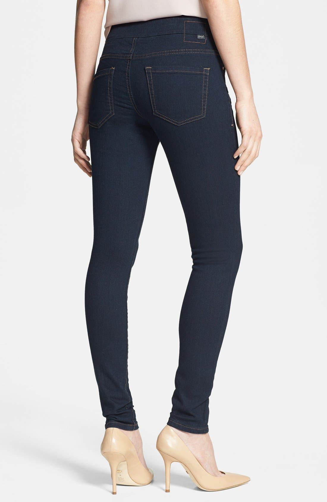 Alternate Image 3  - Jag Jeans 'Nora' Pull-On Skinny Stretch Jeans (After Midnight) (Regular & Petite)