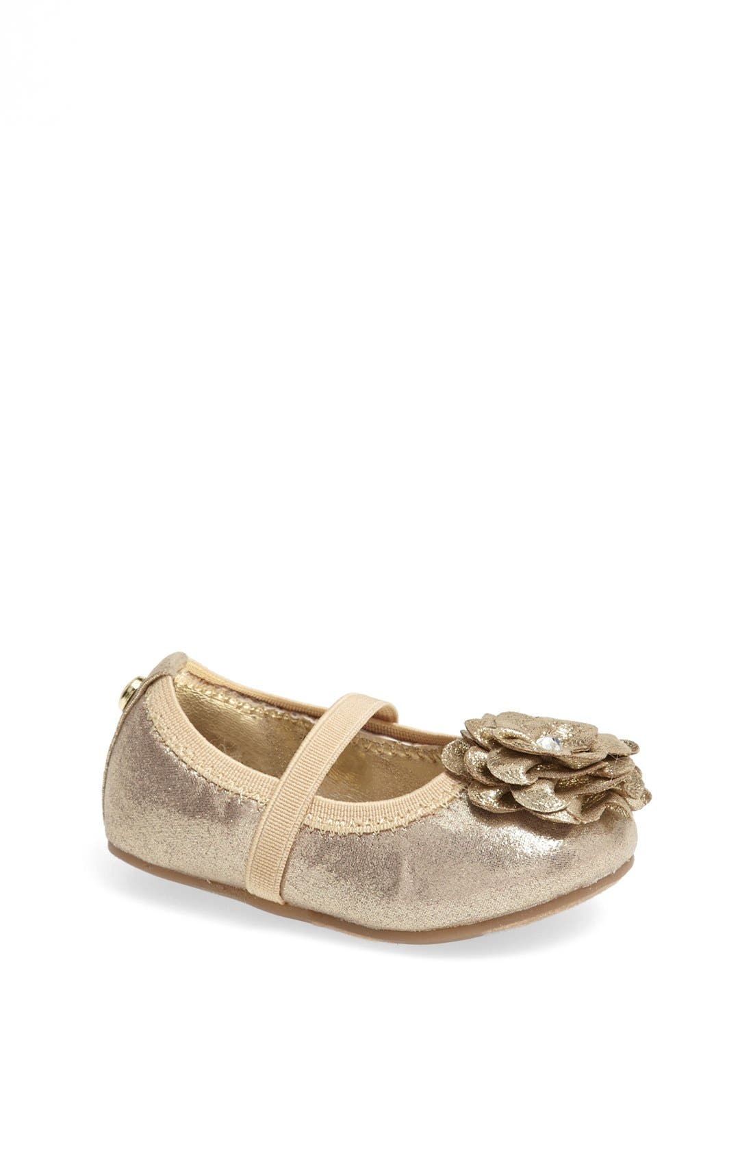Alternate Image 1 Selected - Stuart Weitzman 'Pali' Crib Shoe (Baby)