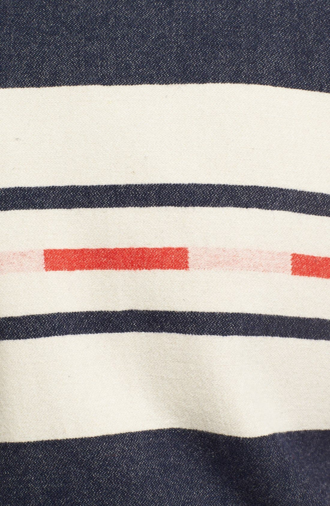 Alternate Image 3  - Pendleton Portland Collection 'Franklin' Camp Stripe Varsity Jacket