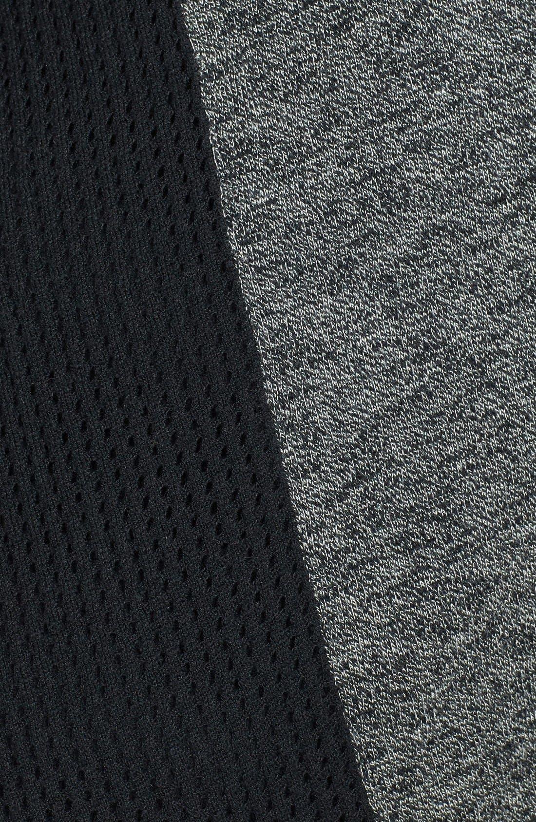 Alternate Image 3  - Sejour Open Stitch Back Inset Cardigan (Plus Size)
