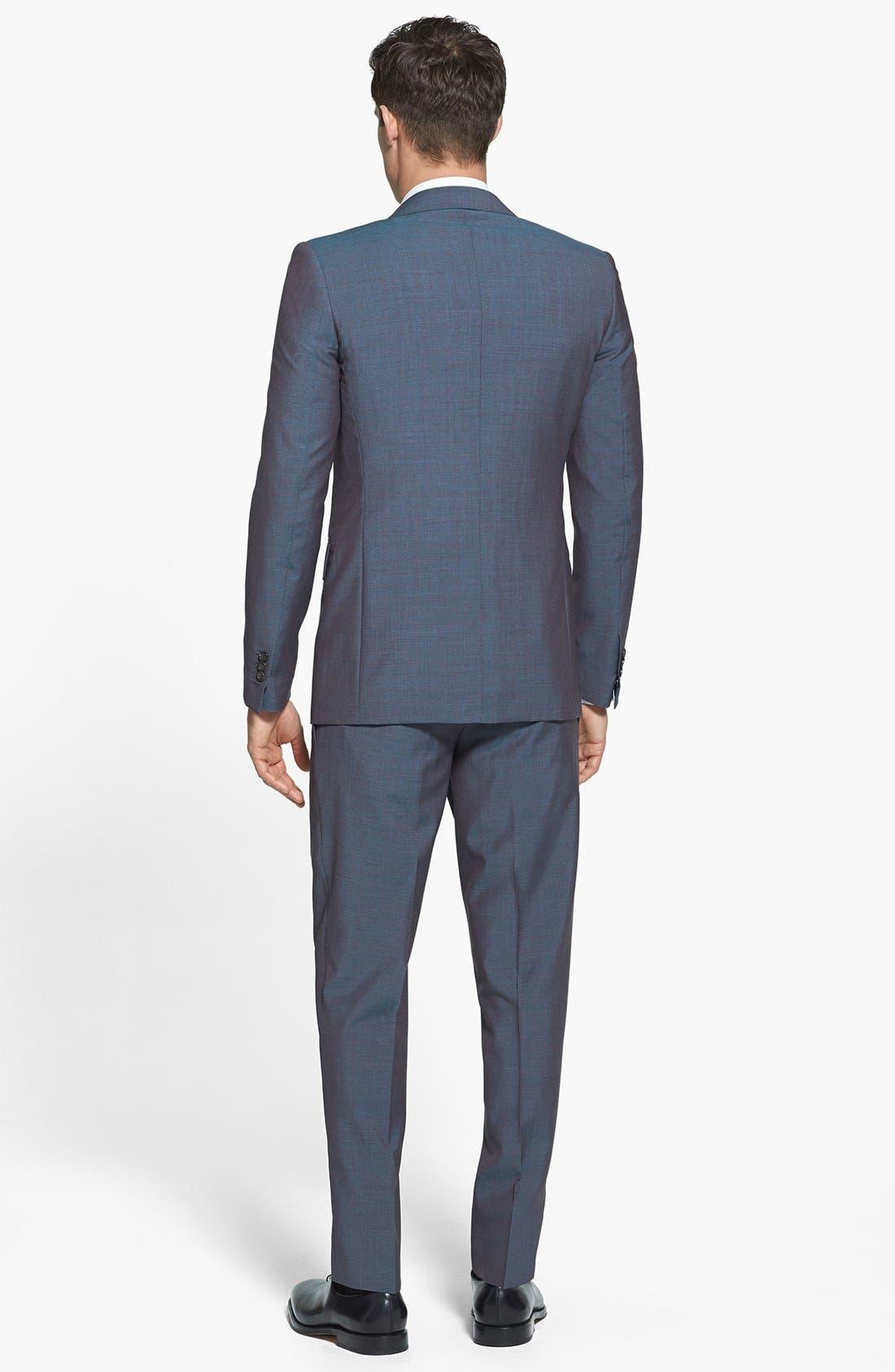 Alternate Image 2  - Dsquared2 'Milano' Mélange Wool Suit