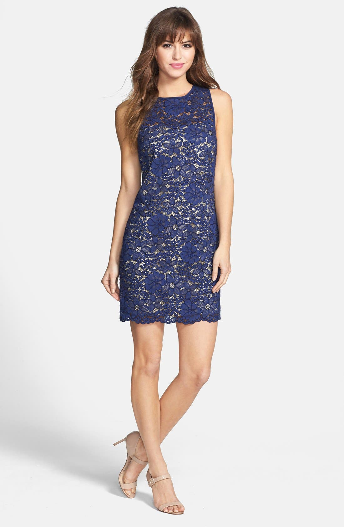 Alternate Image 3  - Trina Turk 'Bissitti' Lace Sheath Dress
