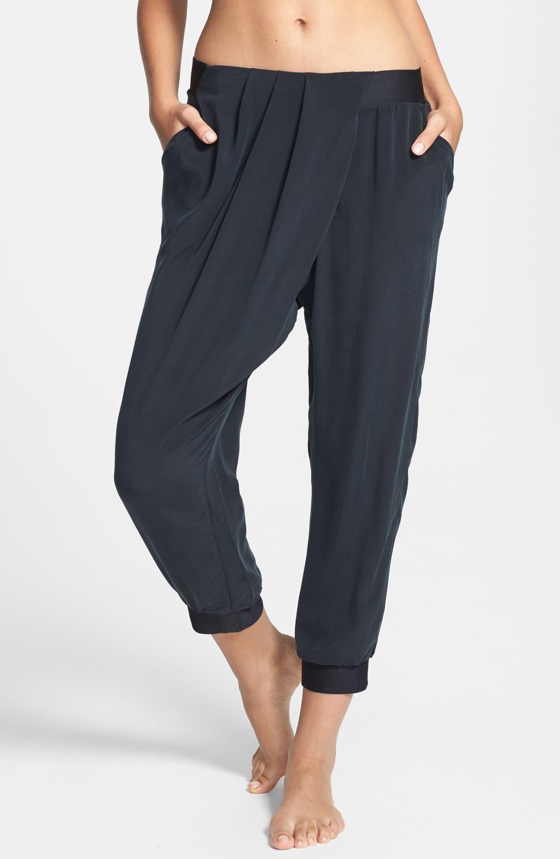 Alternate Image 1 Selected - Lole 'Asha' Silk Capri Pants