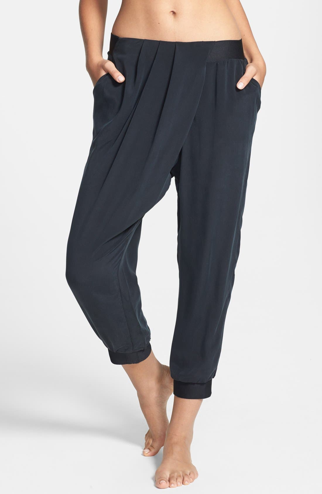 Main Image - Lole 'Asha' Silk Capri Pants