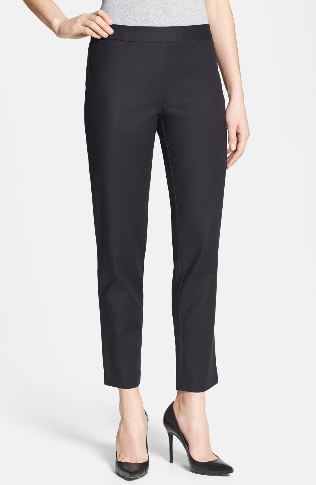 Main Image - Kenneth Cole New York 'Khloee' Ankle Pants (Petite)