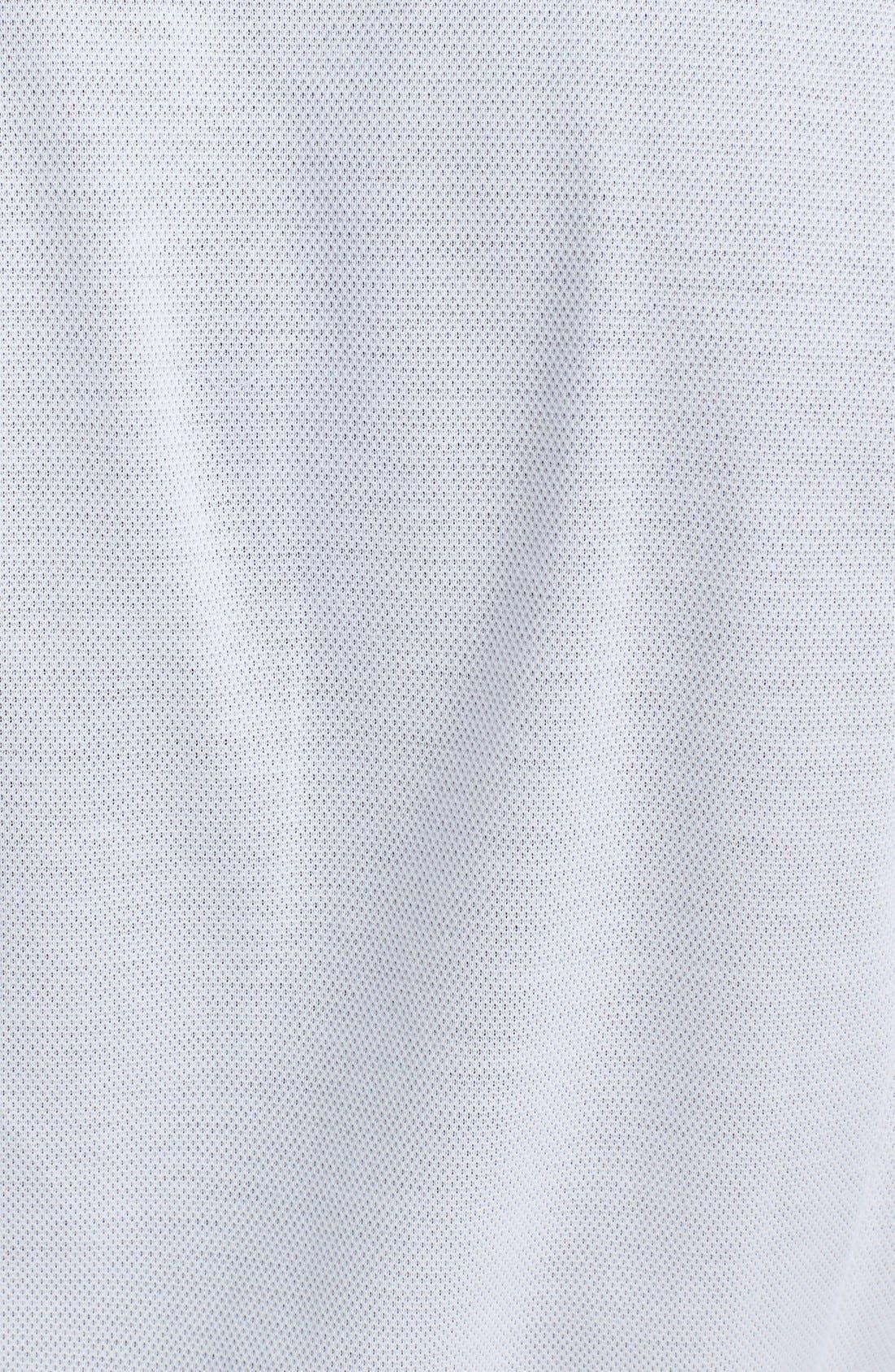 Alternate Image 3  - Canali Cotton & Linen Knit Italian Sport Shirt
