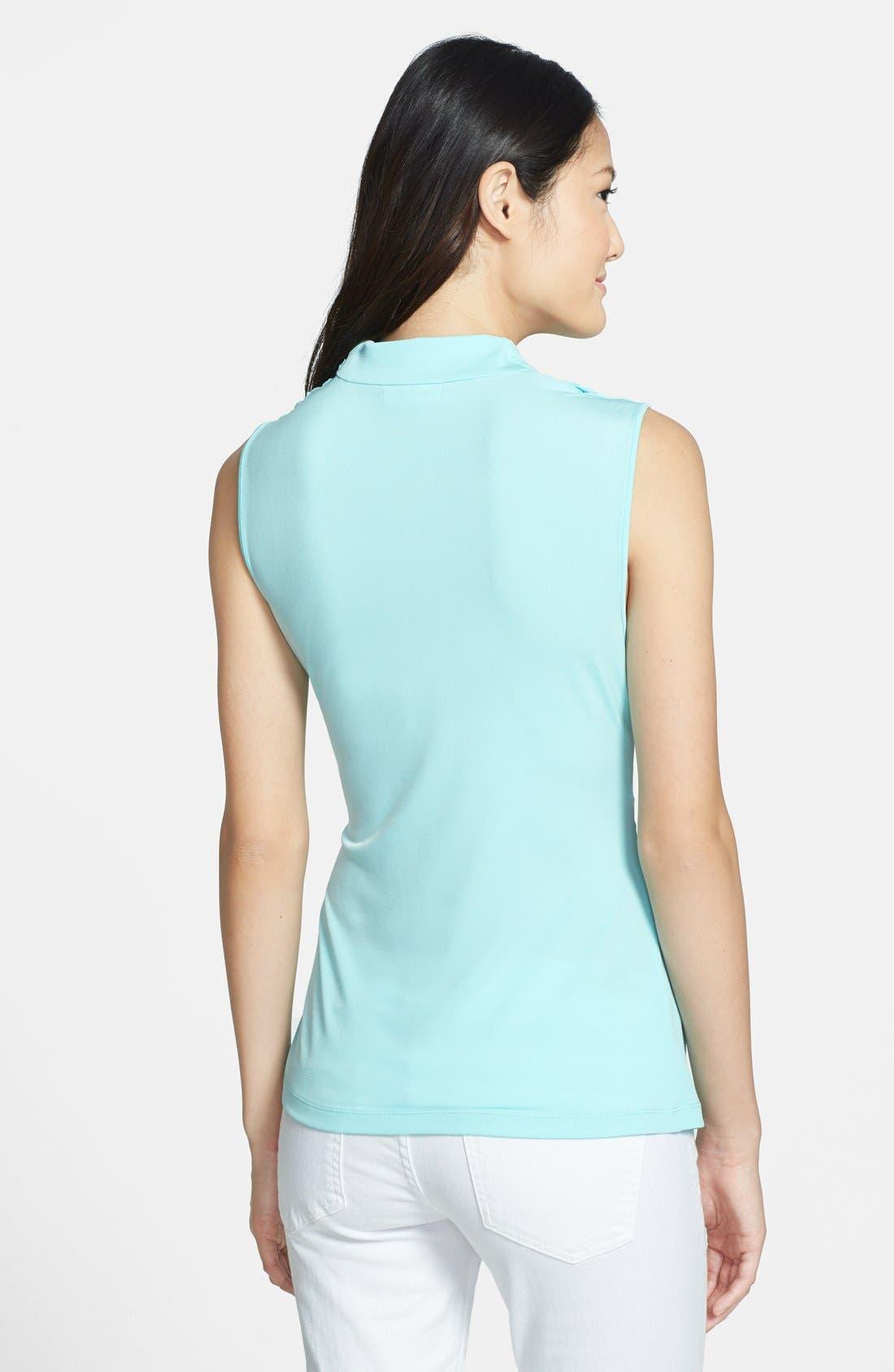 Alternate Image 2  - Calvin Klein Drape Cowl Sleeveless Top