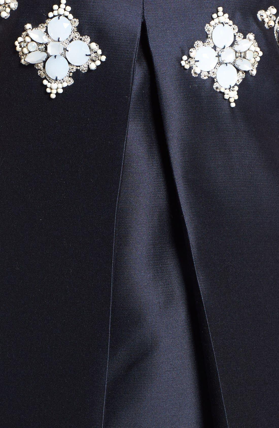 Alternate Image 3  - Tory Burch 'Colton' Embellished Silk A-Line Dress