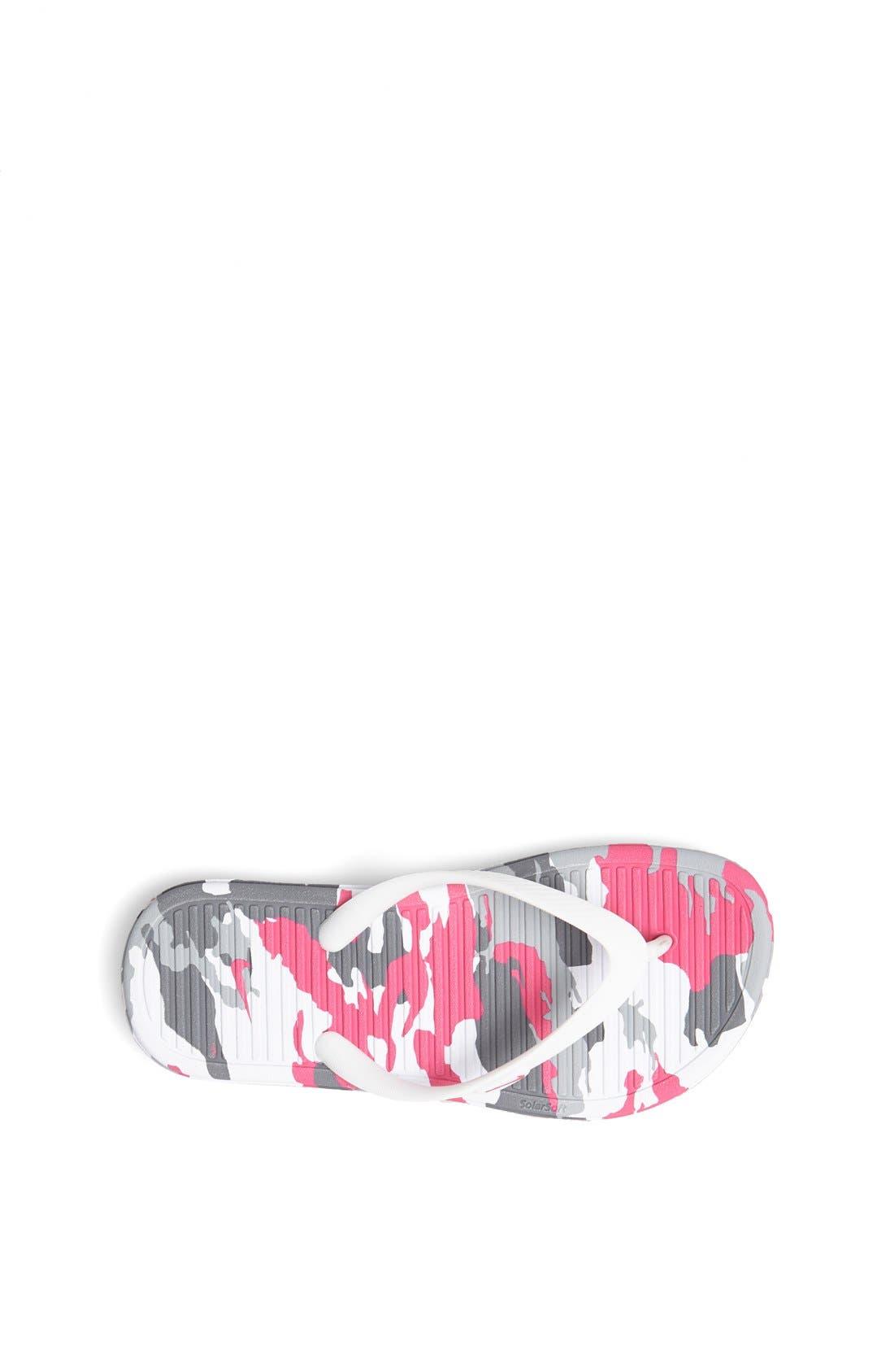 Alternate Image 3  - Nike 'Solarsoft 2' Thong Sandal (Toddler, Little Kid & Big Kid)