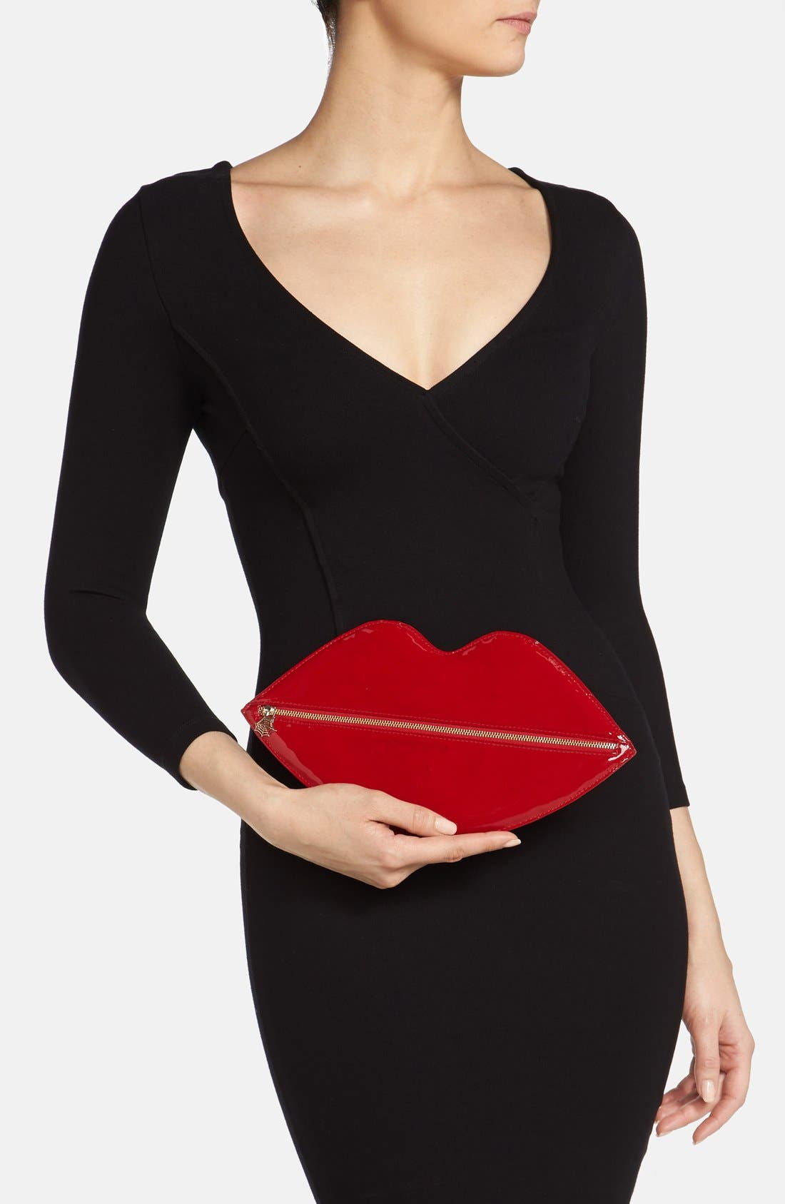 Alternate Image 2  - Charlotte Olympia Lip Shaped Clutch