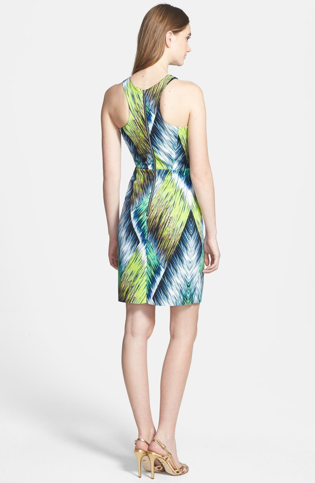 Alternate Image 2  - Milly Print Neoprene Sheath Dress