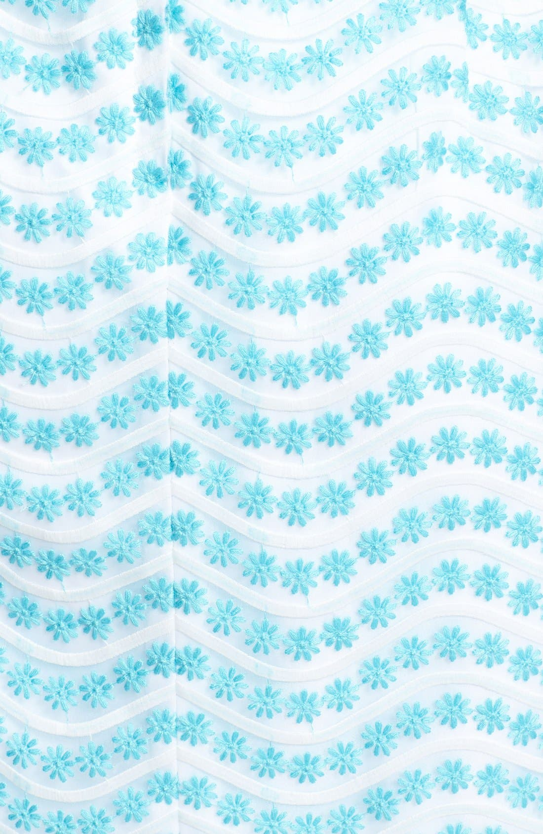 Alternate Image 3  - Lilly Pulitzer® 'Piper' Cutout Back Embroidered Organza Shift Dress