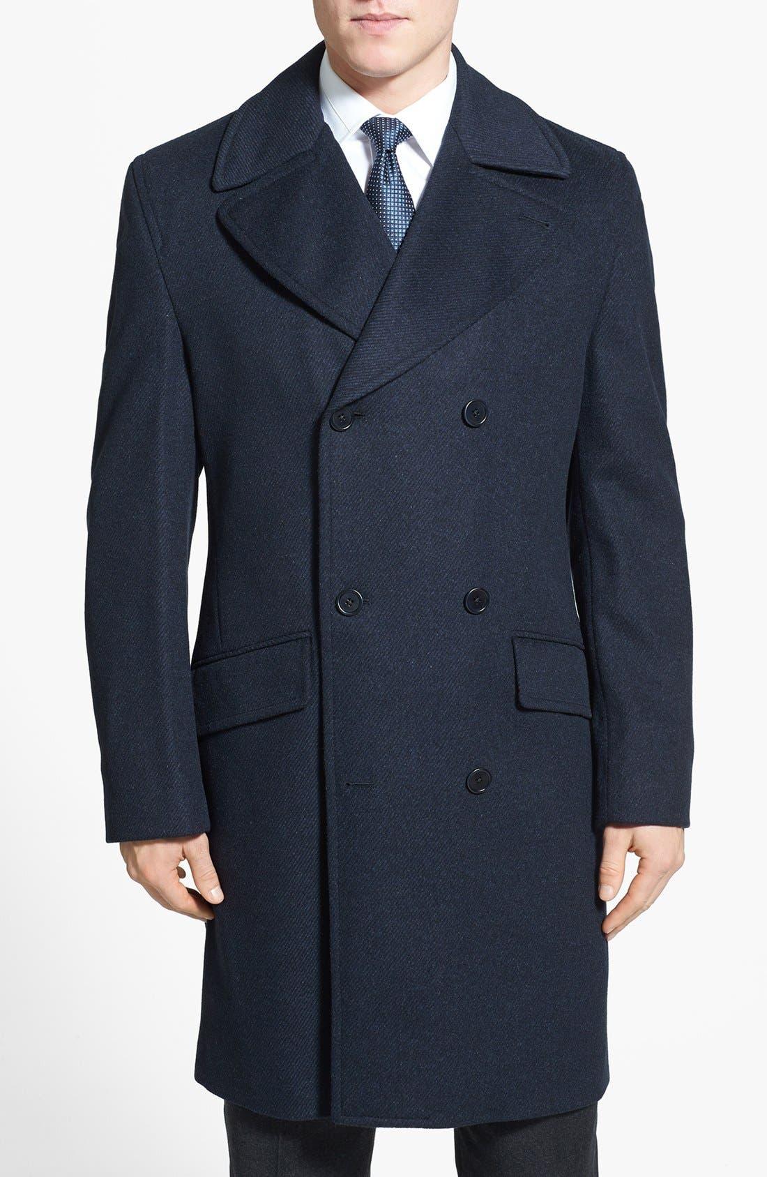 Alternate Image 1 Selected - Cardinal of Canada Wool Blend Top Coat