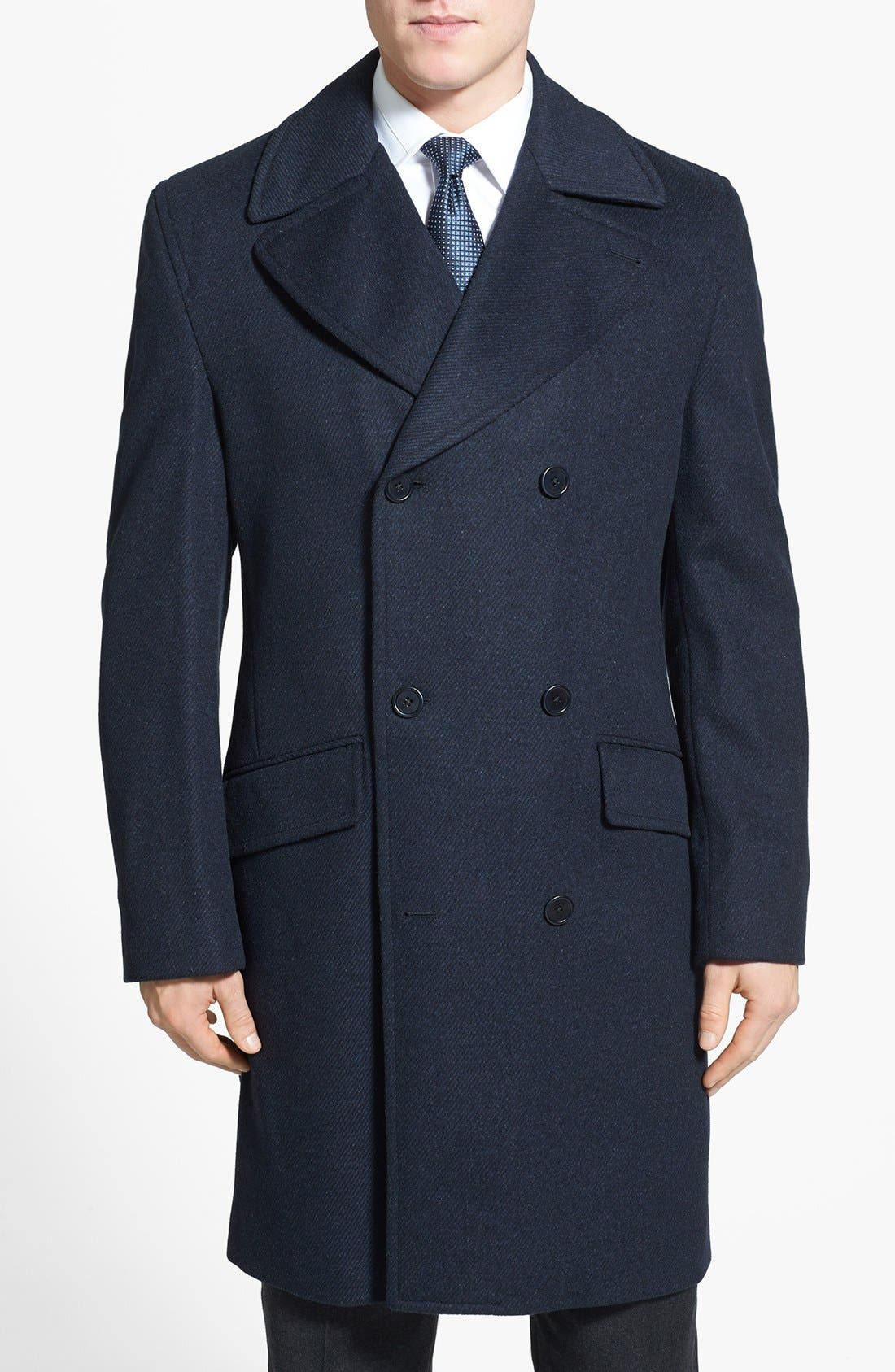 Main Image - Cardinal of Canada Wool Blend Top Coat