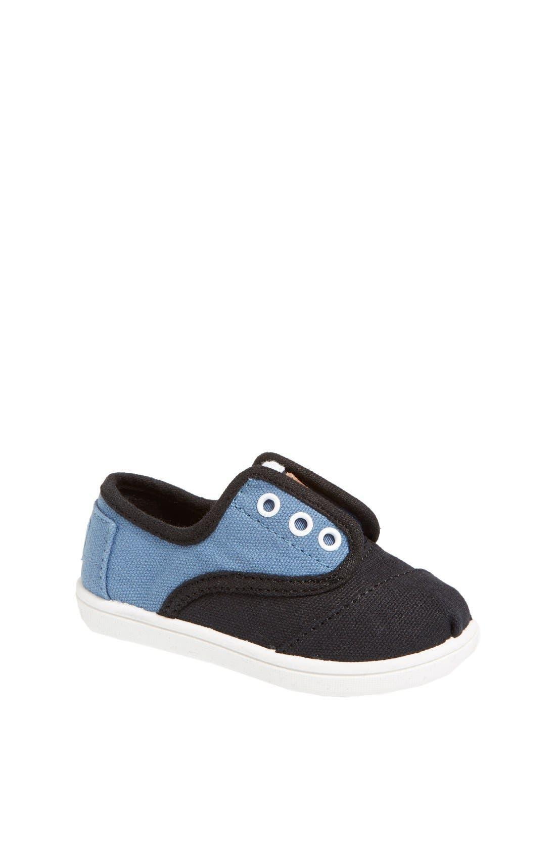 Main Image - TOMS 'Cordones - Tiny' Sneaker (Baby, Walker & Toddler)