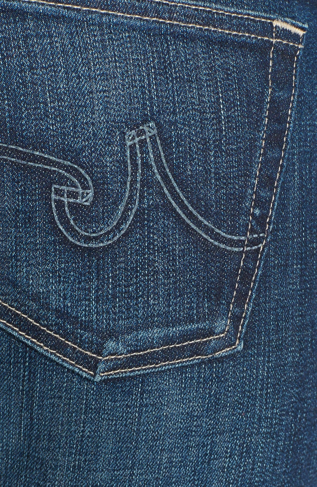 Alternate Image 3  - AG 'The Tomboy' Relaxed Straight Leg Jeans (Six Year Compass)