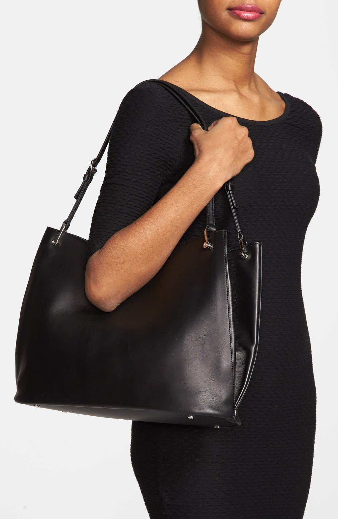 Alternate Image 2  - Tod's 'Borse - Grande' Leather Shopper