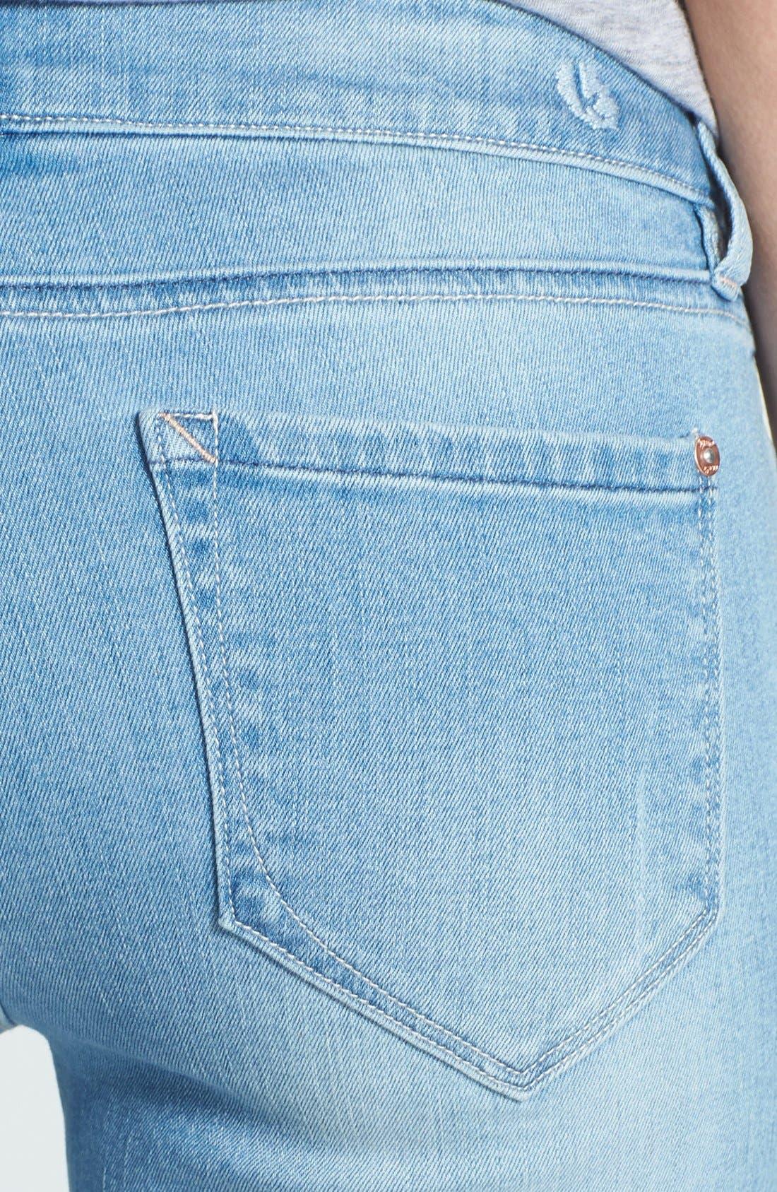Alternate Image 3  - kensie Denim Bermuda Shorts
