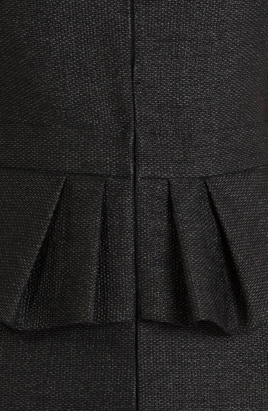 Alternate Image 3  - maje 'Fashionis' Peplum Woven Sheath Dress