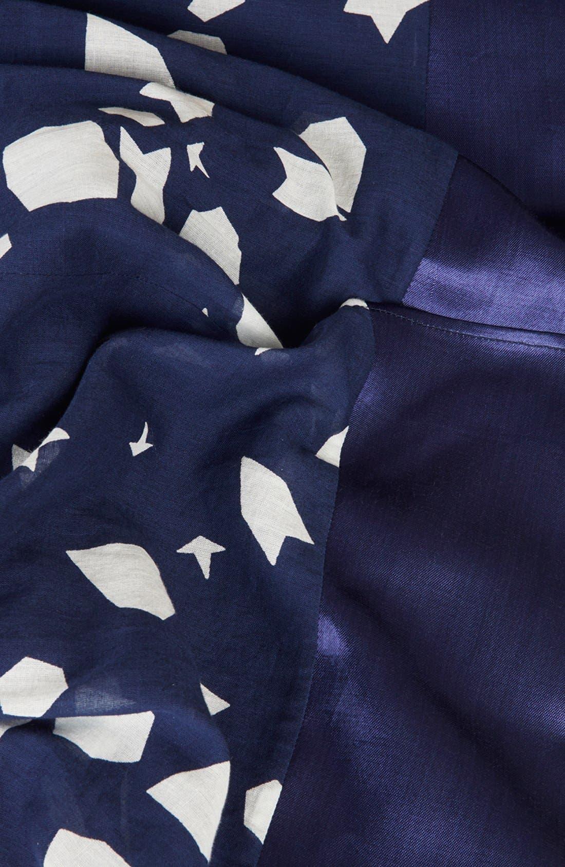 Alternate Image 4  - Topshop Unique 'Uni Spotted' Asymmetrical Cotton Dress