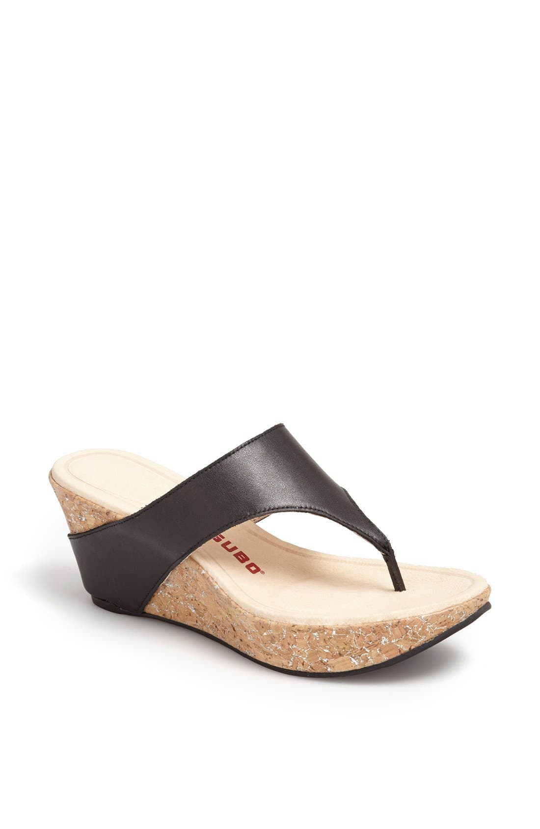 Alternate Image 1 Selected - Tsubo 'Odelle' Wedge Thong Sandal