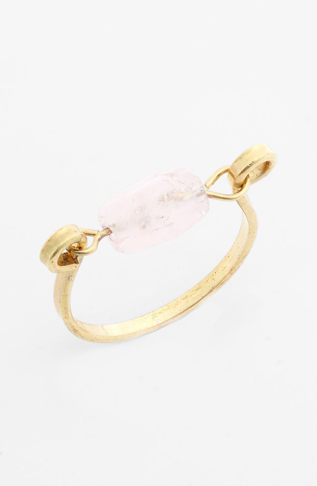 Alternate Image 1 Selected - Stephan & Co. Natural Stone Ring (Juniors)