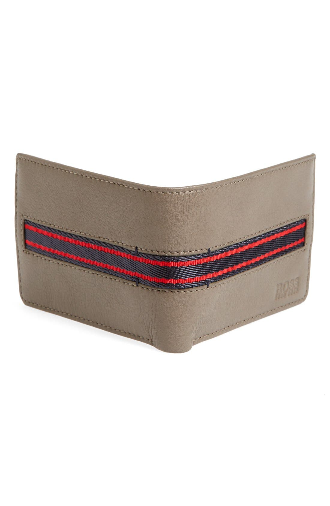 Alternate Image 2  - BOSS HUGO BOSS 'Sadonte' Leather Wallet