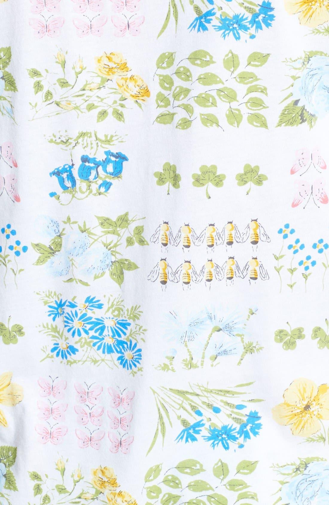 Alternate Image 3  - Carole Hochman Designs 'Butterfly Garden' Pajamas (Plus Size)