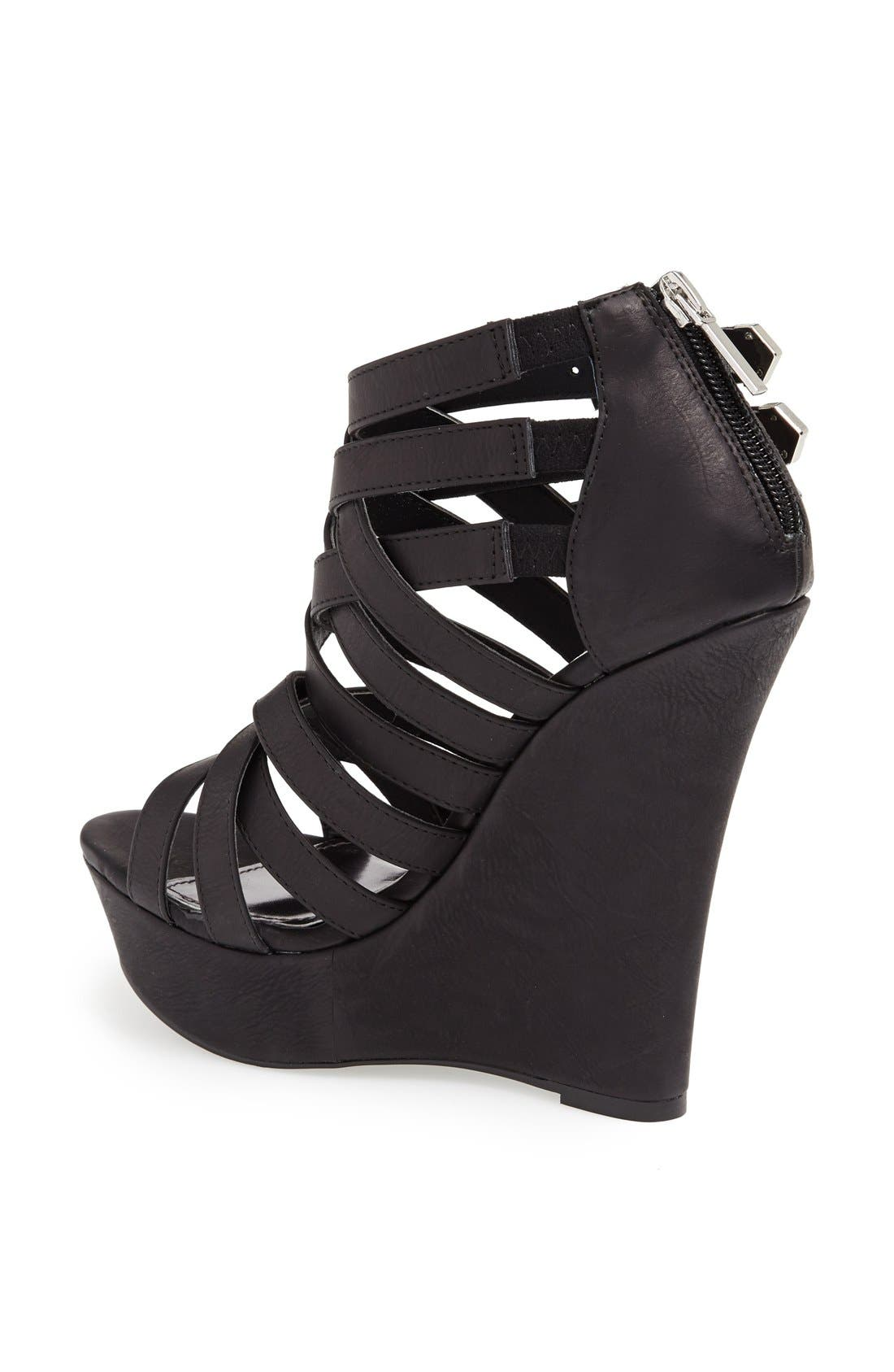 Alternate Image 2  - KENDALL + KYLIE Madden Girl 'Fortune' Wedge Sandal