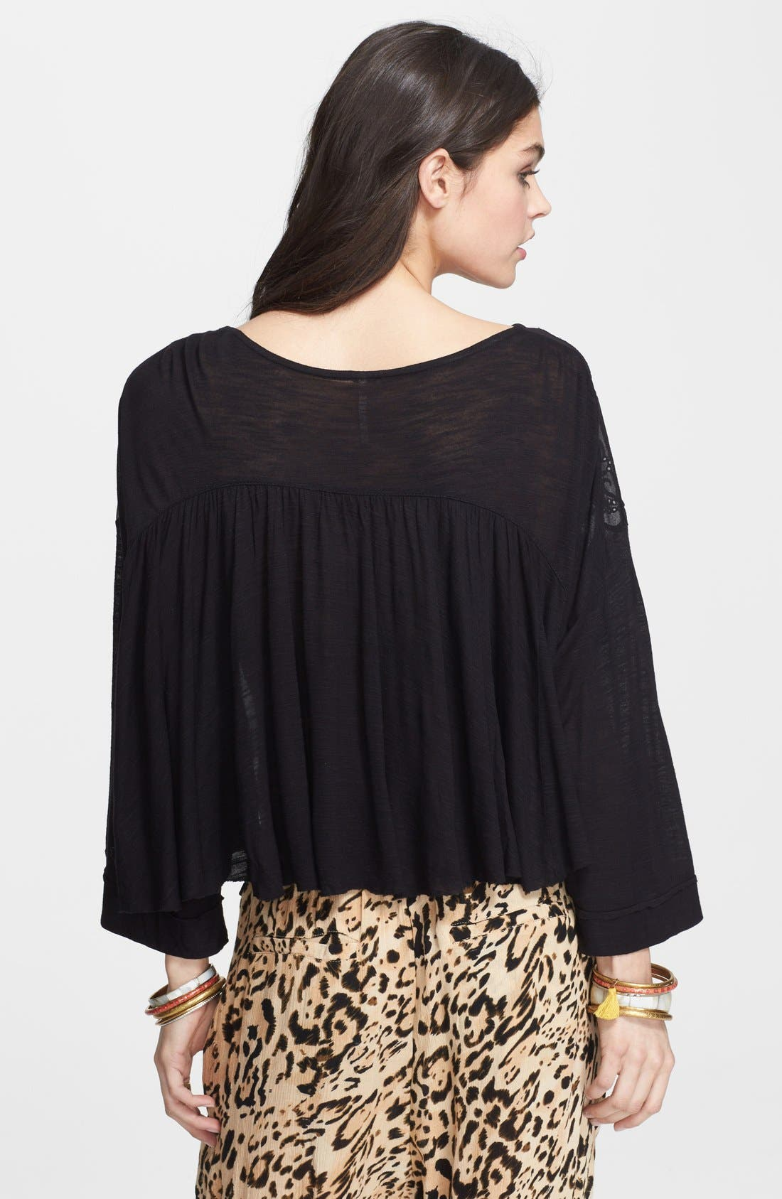 Alternate Image 2  - Free People 'Pandora's' Embroidered Front Top