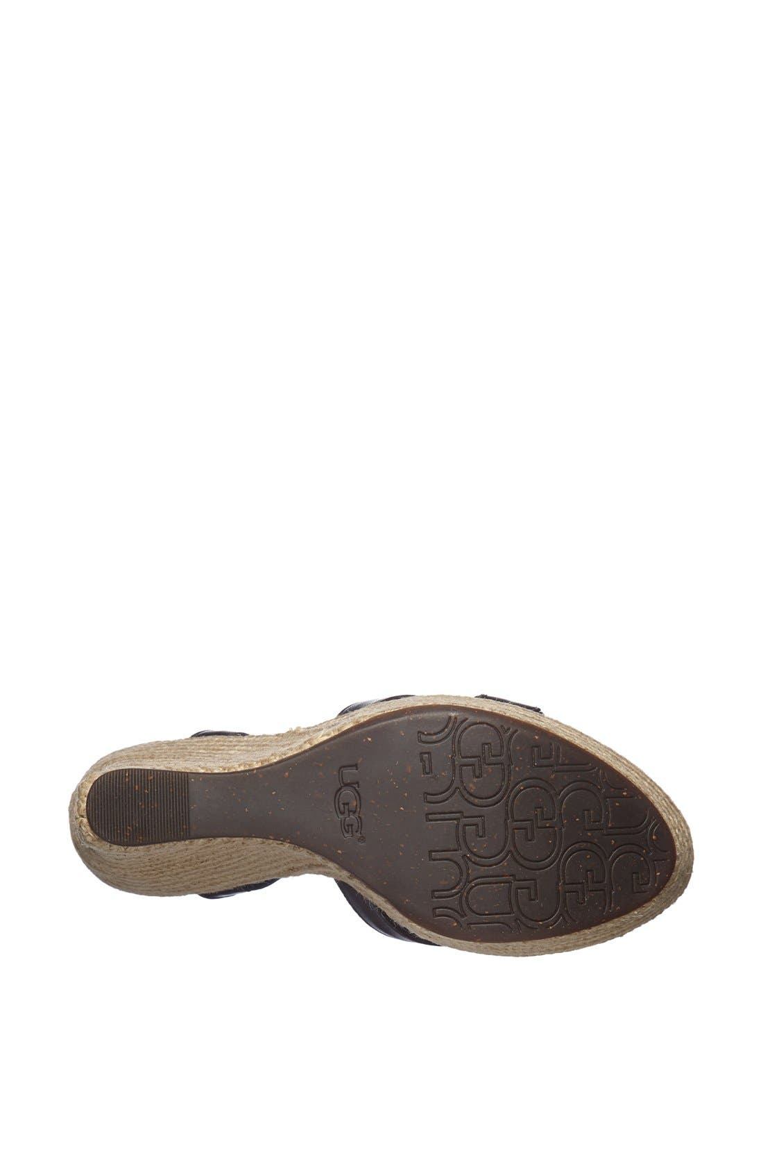 Alternate Image 4  - UGG® Australia 'Jackilyn' Sandal (Women)