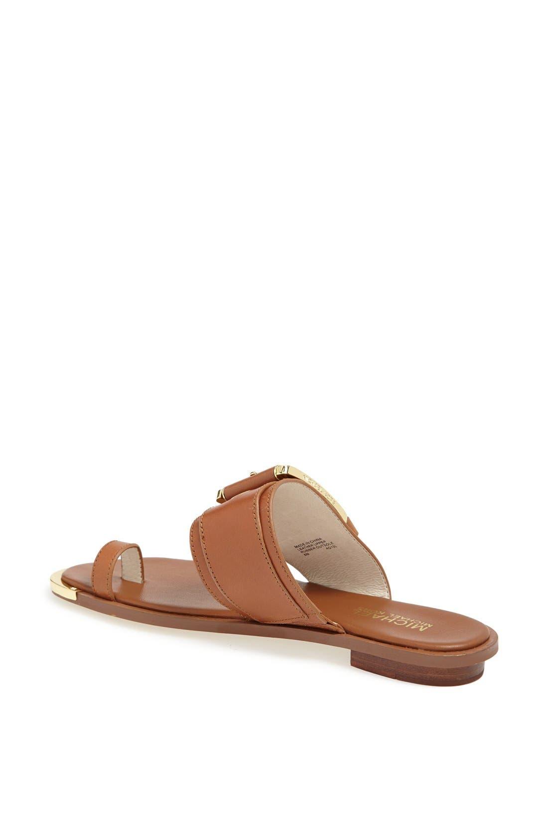 Alternate Image 2  - MICHAEL Michael Kors 'Calder' Toe Loop Sandal