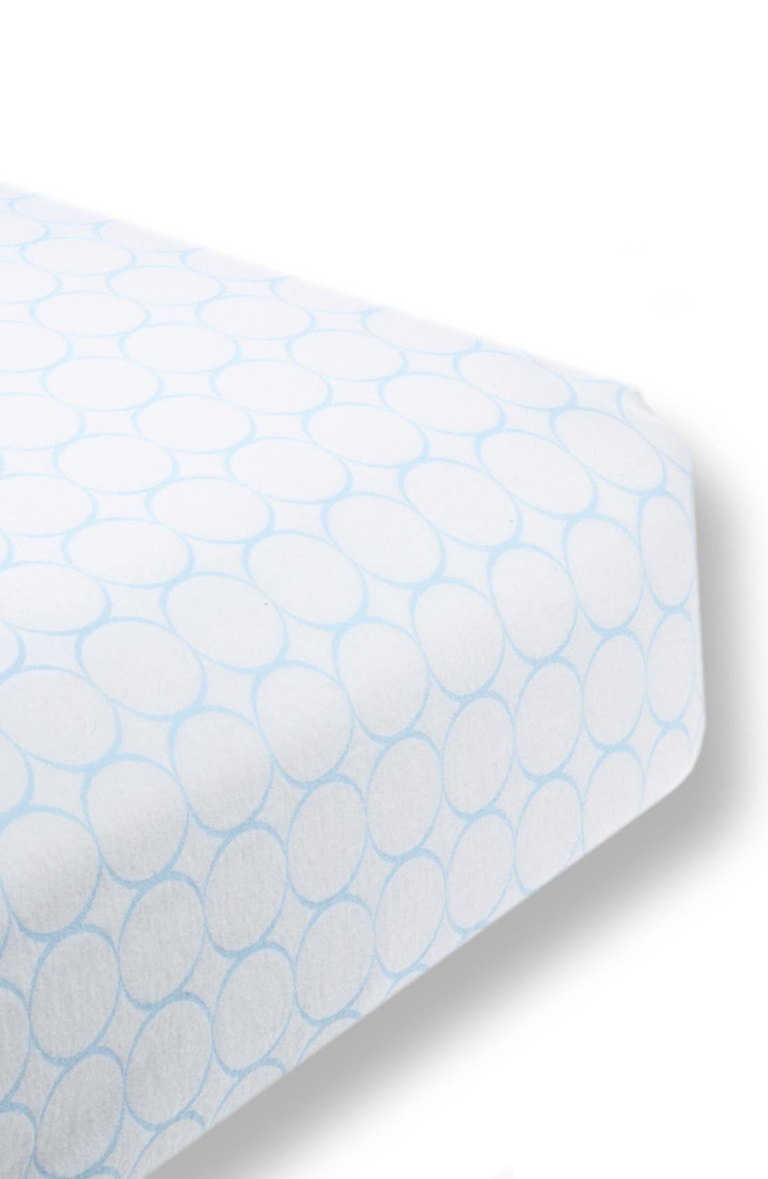 Alternate Image 1 Selected - Swaddle Designs Fitted Flannel Crib Sheet