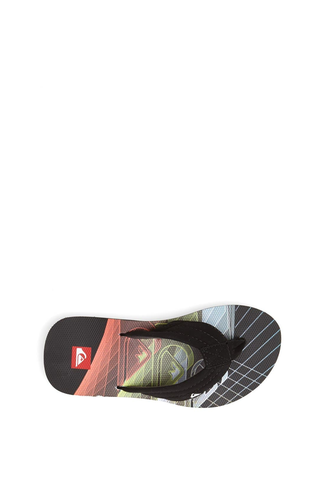 Alternate Image 3  - Quiksilver 'Foundation 2' Flip Flop (Little Kid & Big Kid)