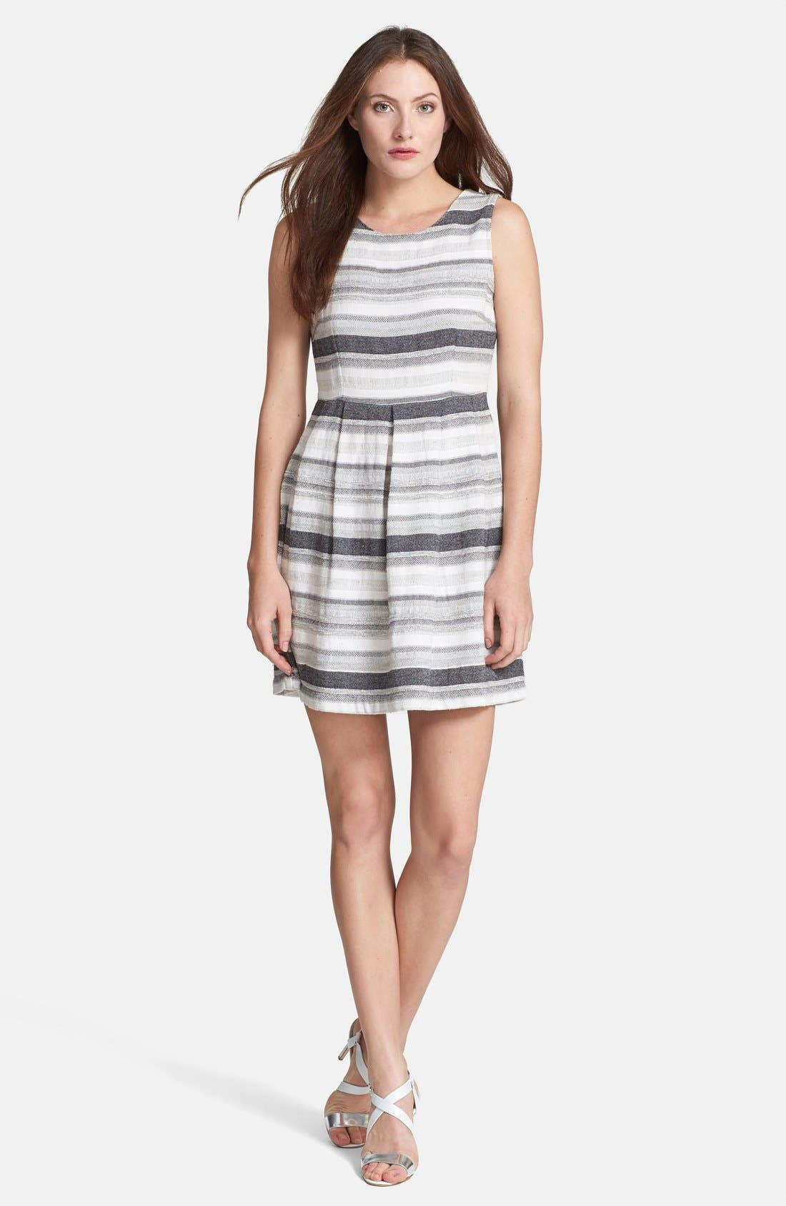 Alternate Image 1 Selected - Joie 'Caya' Woven Cotton Blend Dress