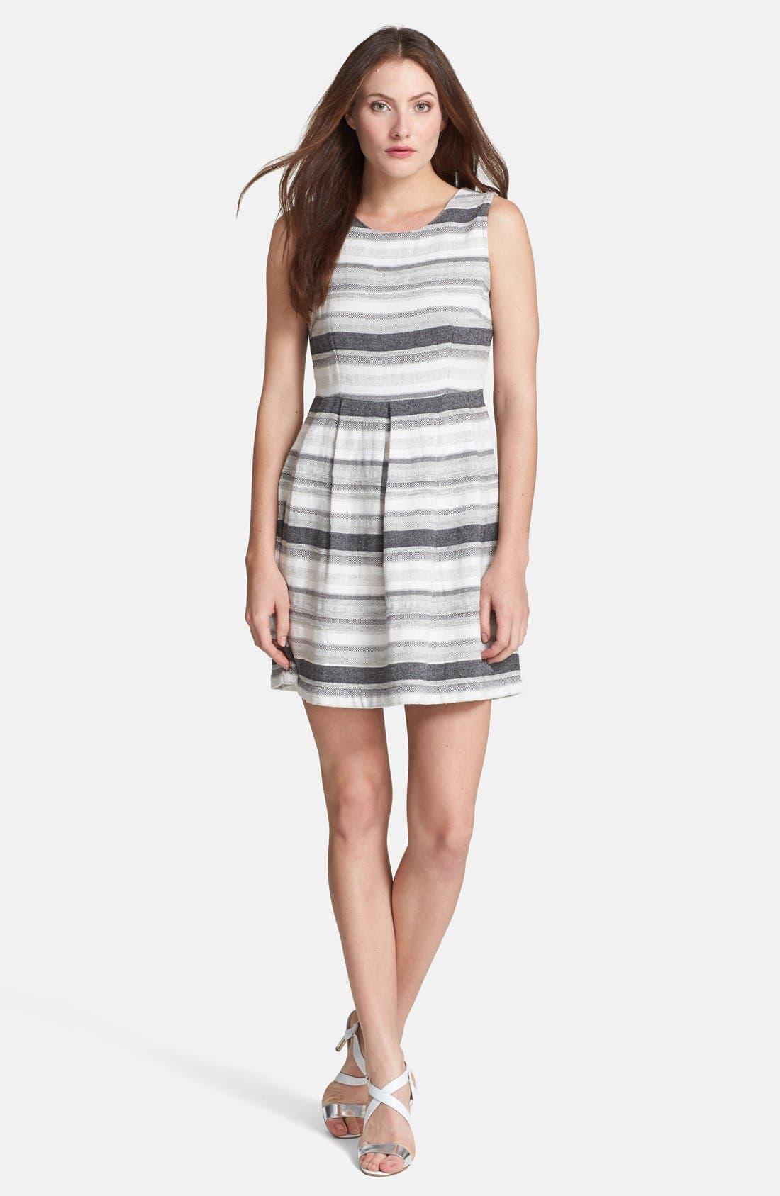 Main Image - Joie 'Caya' Woven Cotton Blend Dress