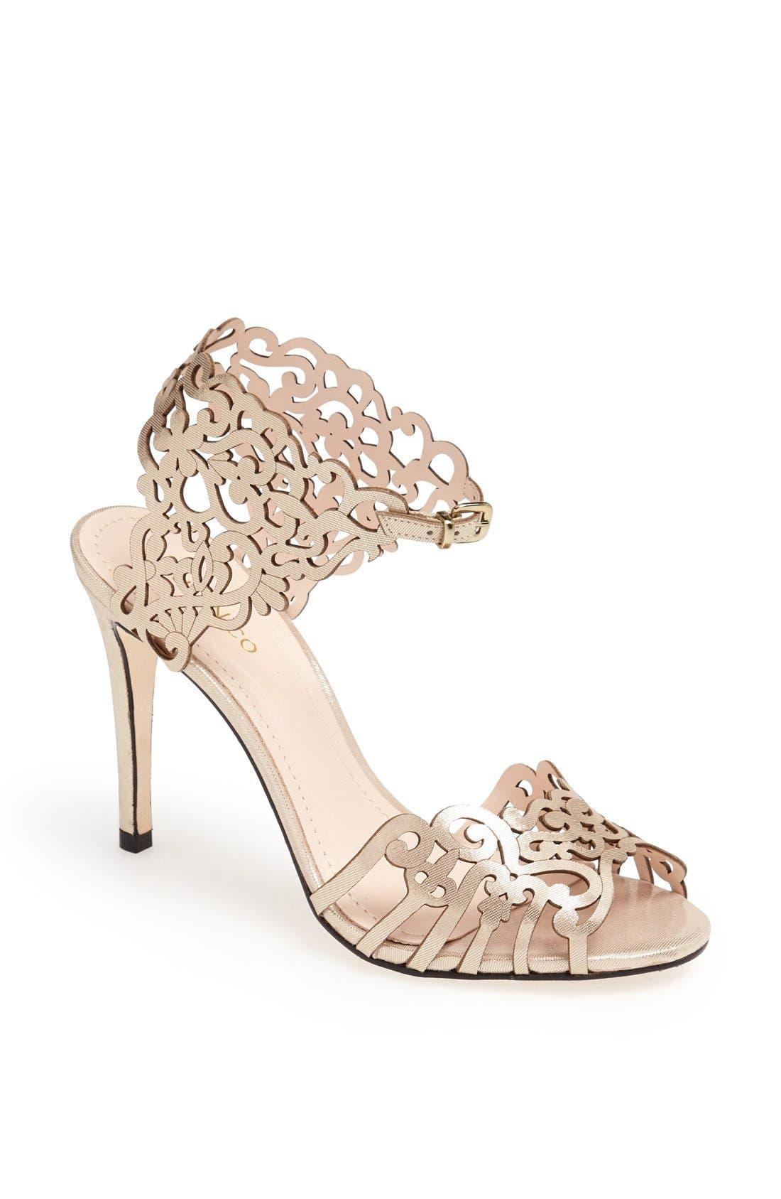 Klub Nico 'Moxie' Laser Cutout Sandal (Women)