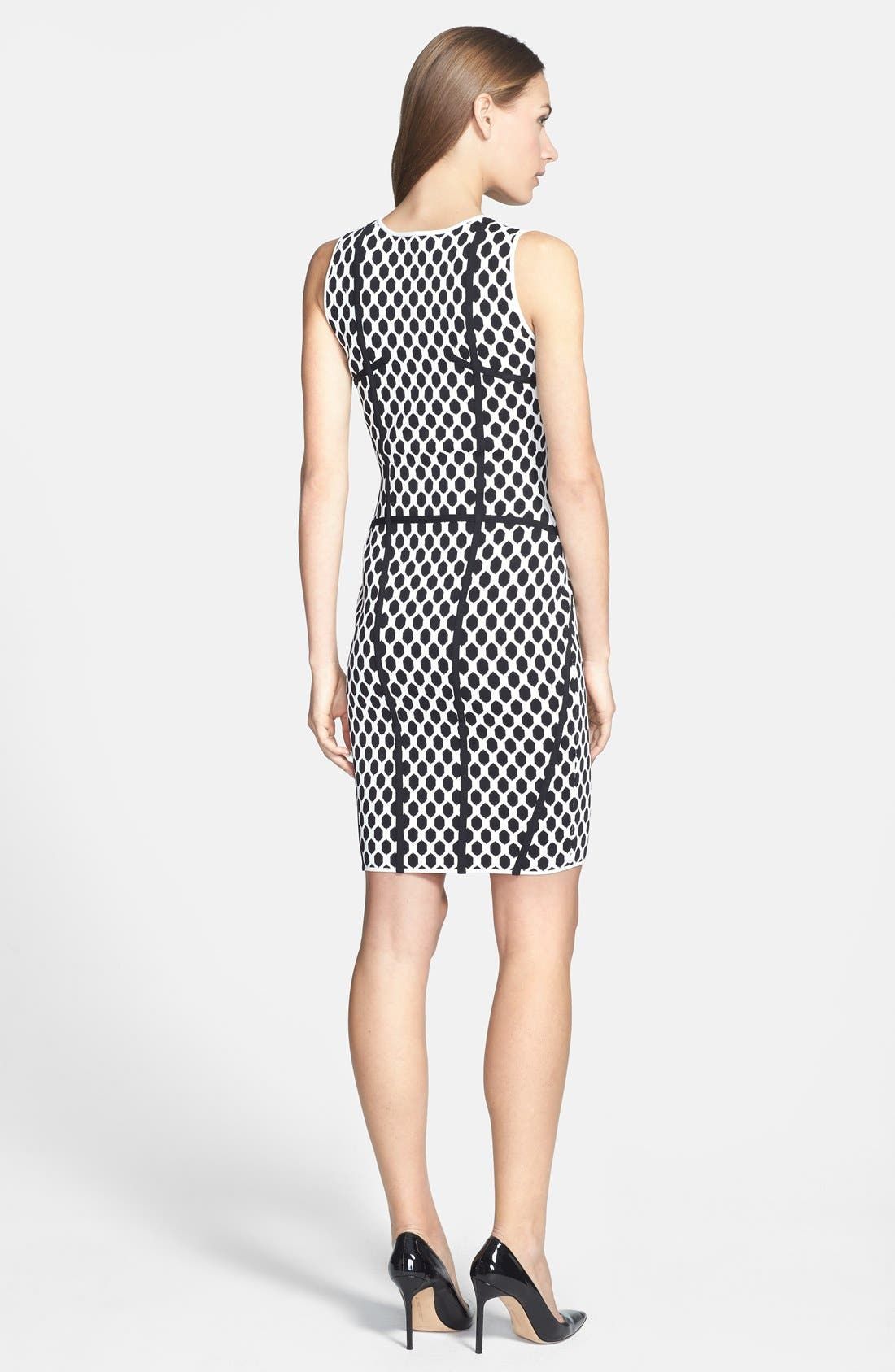 Alternate Image 2  - Diane von Furstenberg 'Lusaka' Knit Body-Con Dress