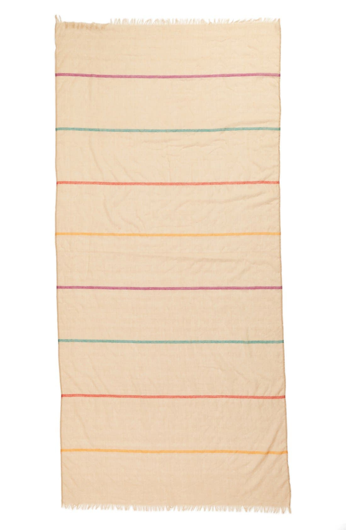 Alternate Image 2  - BP. Beach Stripe Scarf (Juniors)