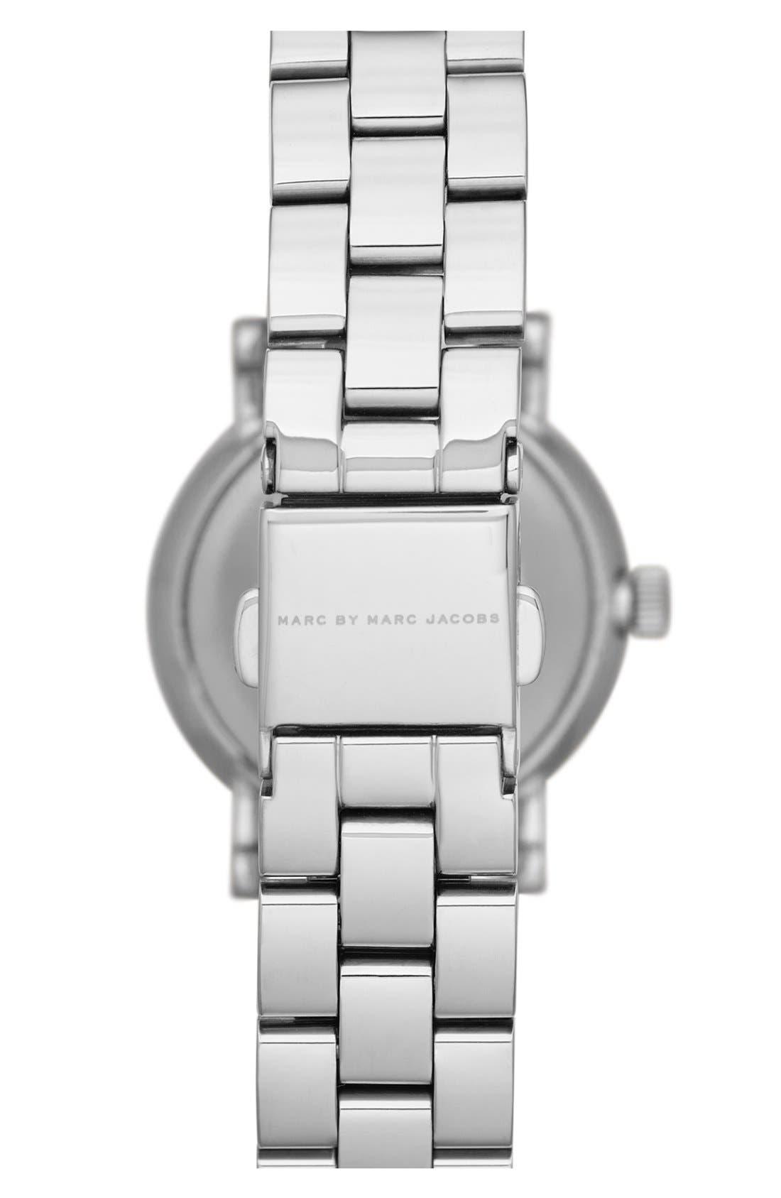 Alternate Image 2  - MARC JACOBS 'Small Baker' Bracelet Watch, 28mm